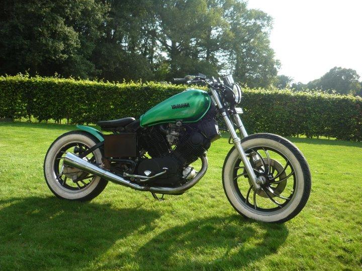 Yamaha XV 750  Bobber